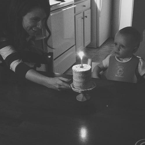 Baby's First Birthday Cake | The Fauxmartha