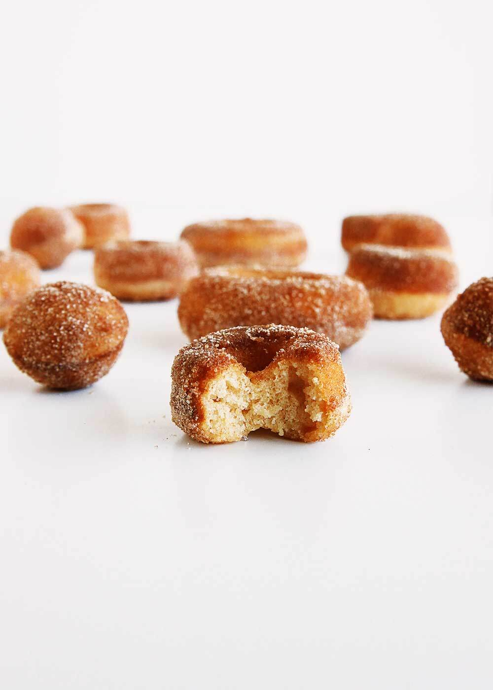 Baked Apple Cider Donuts from The Faux Martha