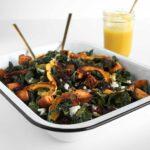 Autumn Salad with Pumpkin Vinaigrette