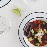 Sweet Potato Taco Soup | The Fauxmartha