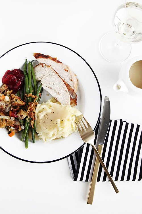 Thanksgiving from scratch | @thefauxmartha