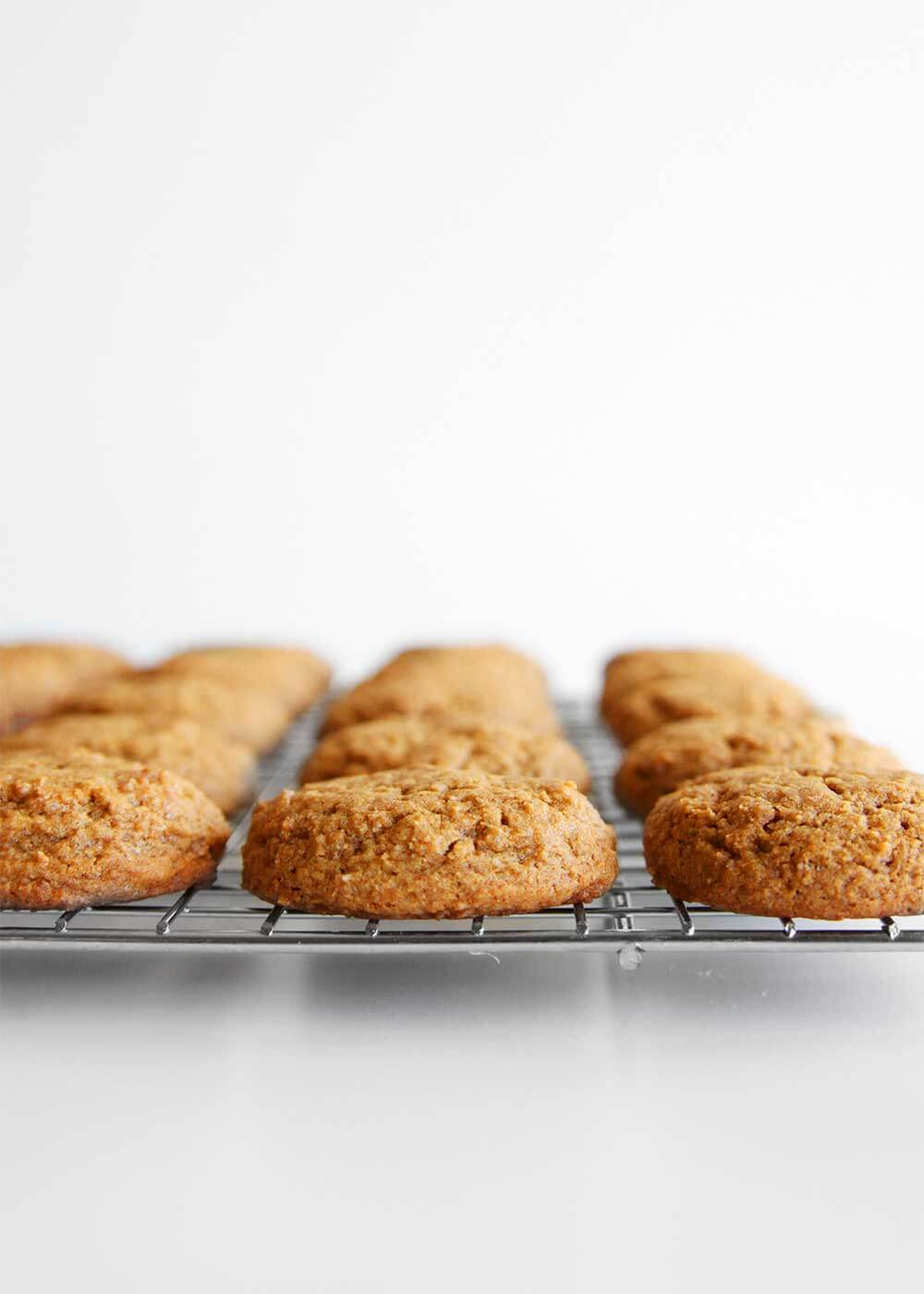 Ginger Snap Whoopie Pies from The Faux Martha