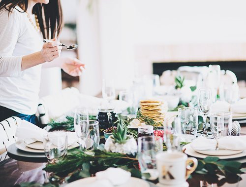 How to Host a Fancy Brunch | @thefauxmartha