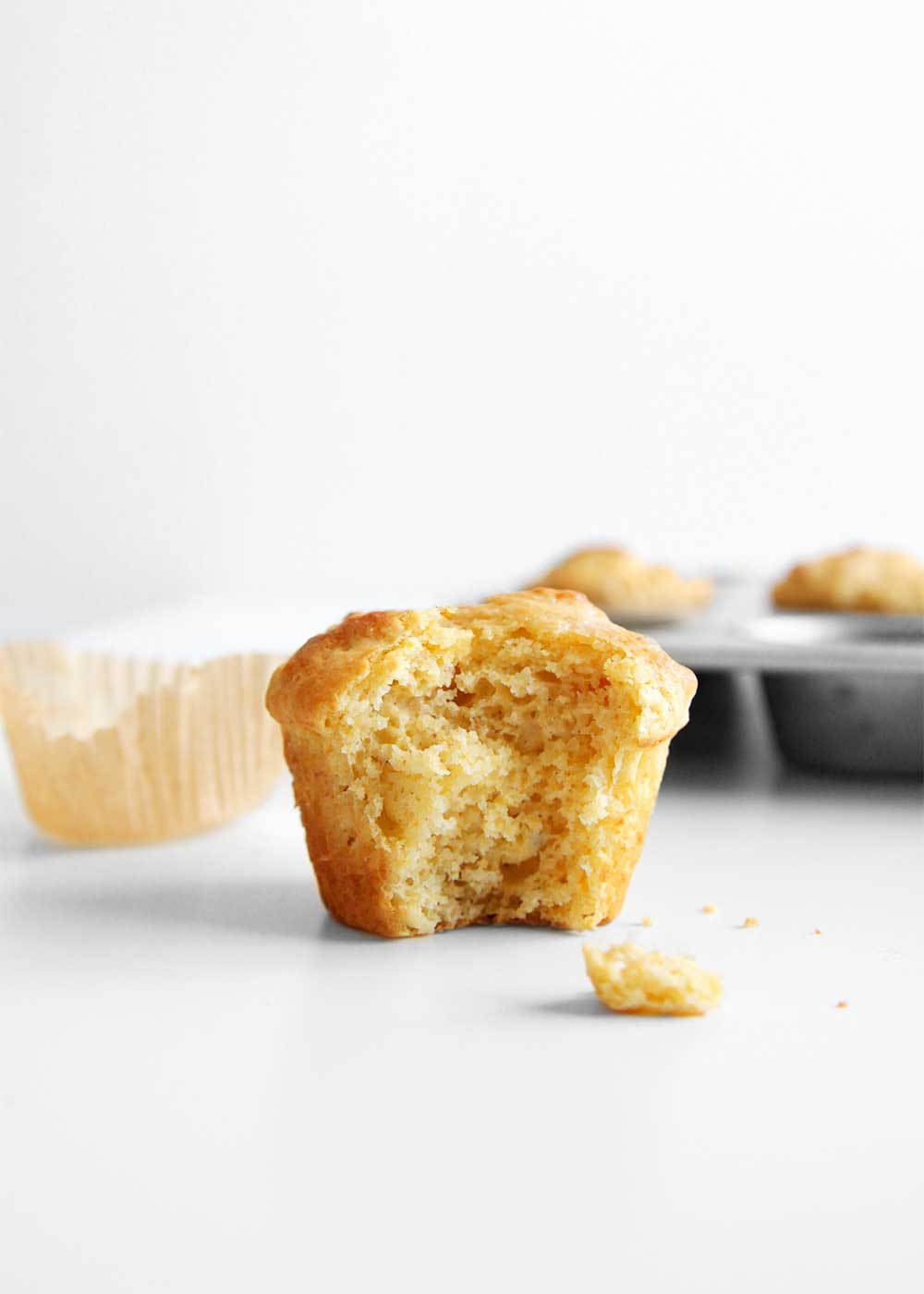 Sweet cornbread muffin recipe from the faux martha