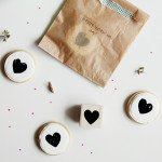 Heart Stamped Cookies | @thefauxmartha