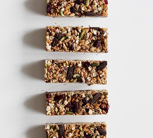 Granola Bars with Superfood Chocolate   @thefauxmartha