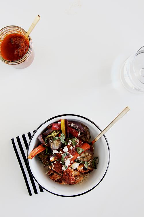 Sun-dried Tomato Bowl | @thefauxmartha