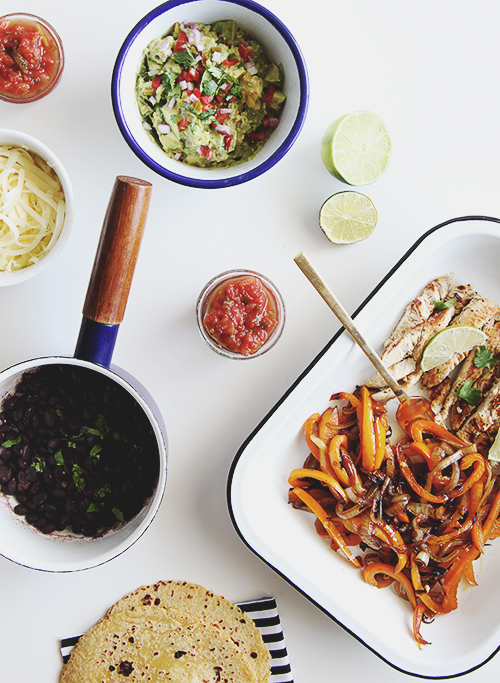 Friday Night Fajitas | @thefauxmartha