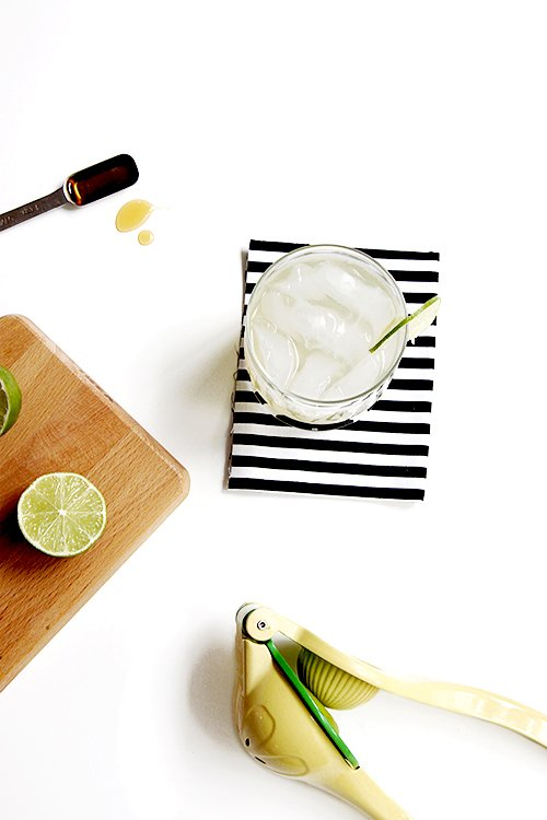 Single Serving Margarita | @thefauxmartha