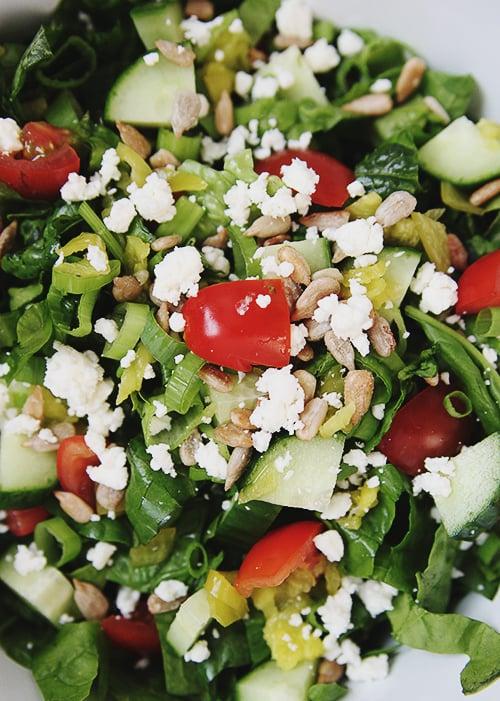 Italian Summer Salad | @thefauxmartha