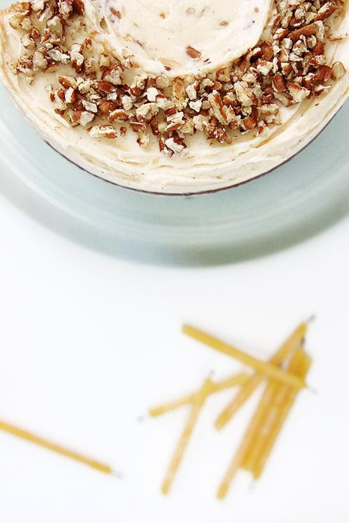 Hummingbird Cake | @thefauxmartha