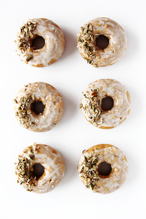 Baked Pumpkin Donuts | @thefauxmartha