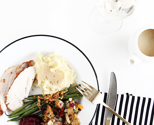 Holiday Dinner Menu from Scratch | @thefauxmartha