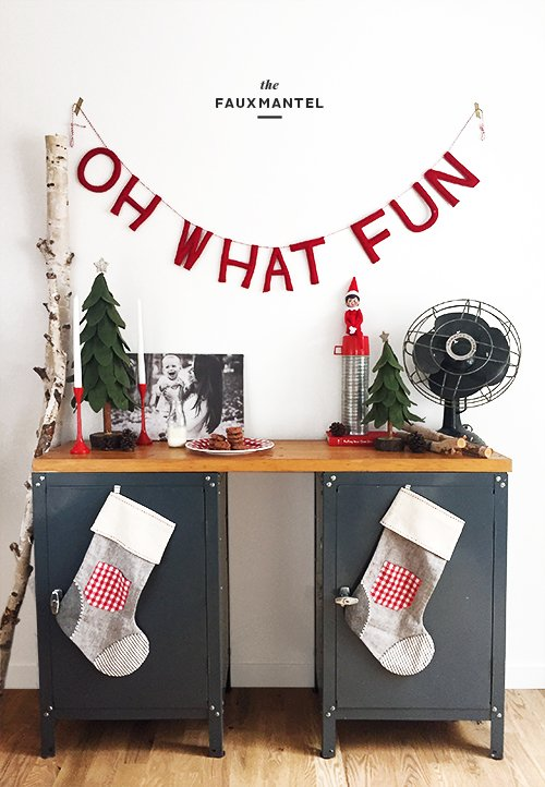 The Faux Mantel | @thefauxmartha