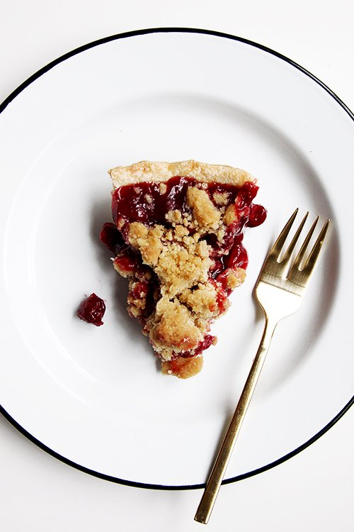Tar Cherry Pie | @thefauxmartha