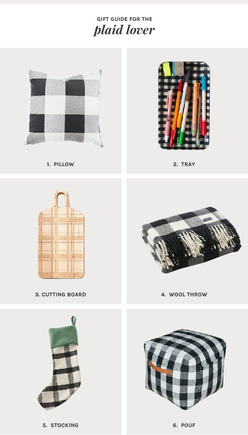 Plaid Lover Gift Guide | @thefauxmartha