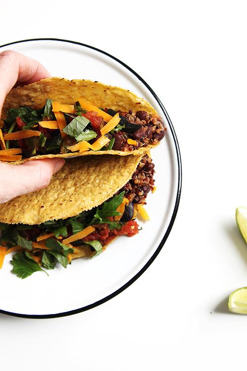 Minimalism and Vegetarian Tacos | @thefauxmartha
