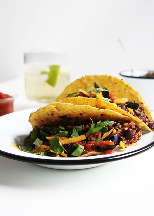 Minimalism and Vegetarian Tacos | @thefauxmartha