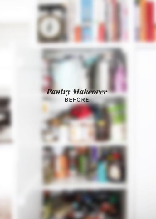 Making a Minimalist Pantry | @thefauxmartha