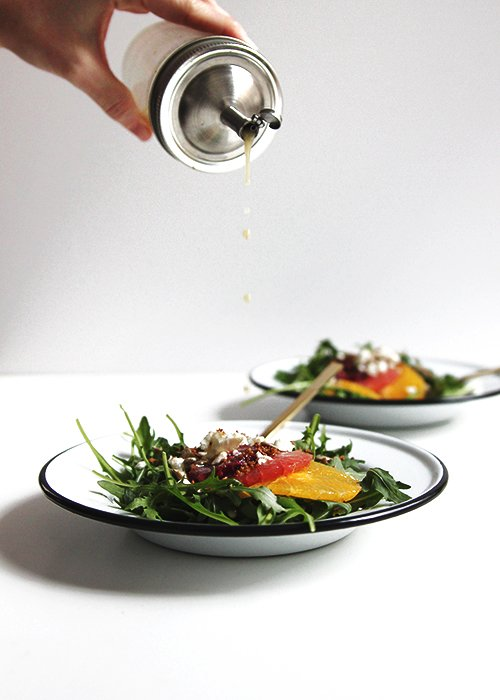Winter Citrus Salad | @thefauxmartha
