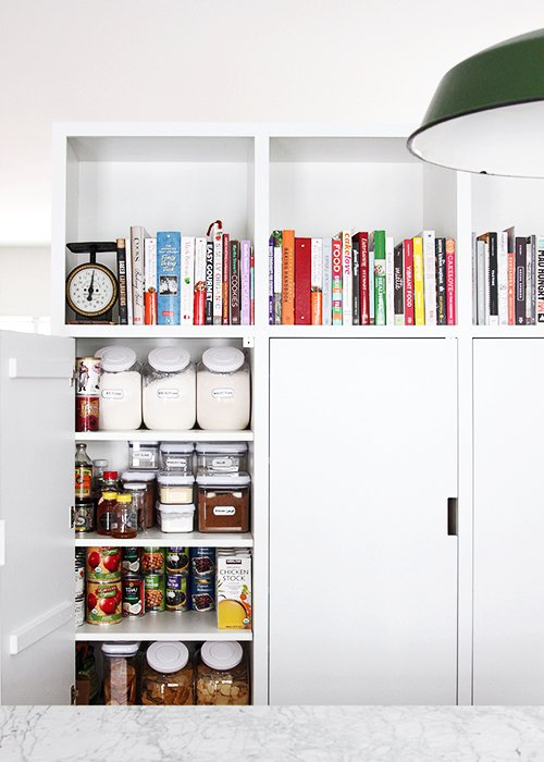 Building A Minimalist Pantry The Faux