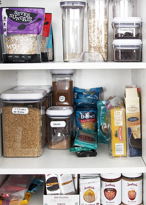 Building a Minimalist Pantry | @thefauxmartha