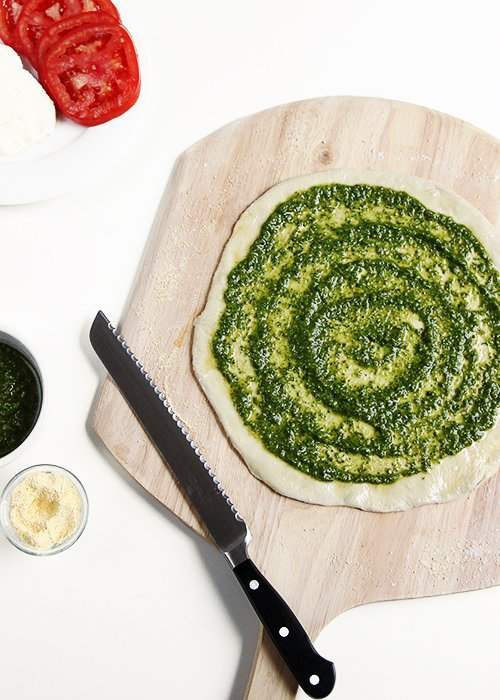 Justin's Almond Butter Pesto | @thefauxmartha