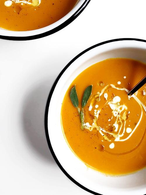 One Pot Butternut Squash Soup | @thefauxmartha
