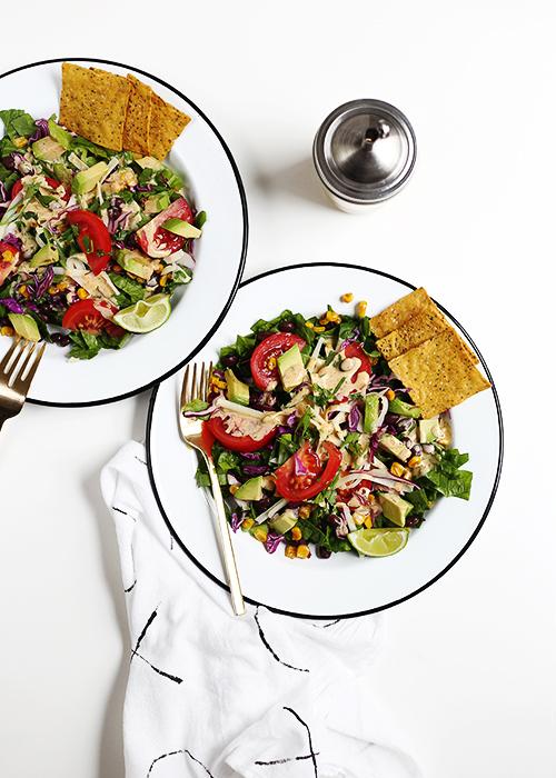 Tex-Mex Chopped Salad | @thefauxmartha