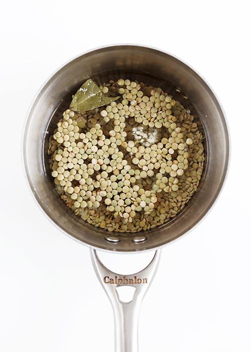 Lentil Tahini Bowls   @thefauxmartha