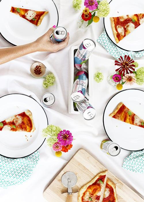Thin 'N Crispy Pizza + Wine To-Go | @thefauxmartha