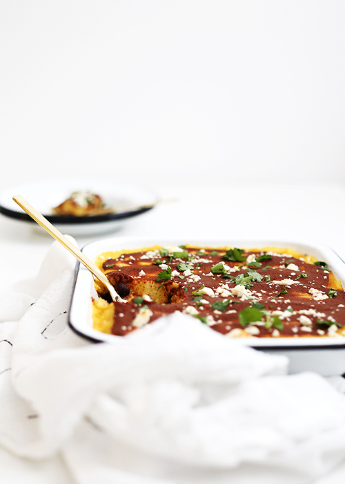 Butternut Kale Tamale Bake | @thefauxmartha