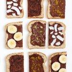 Homemade Nutella Toasts