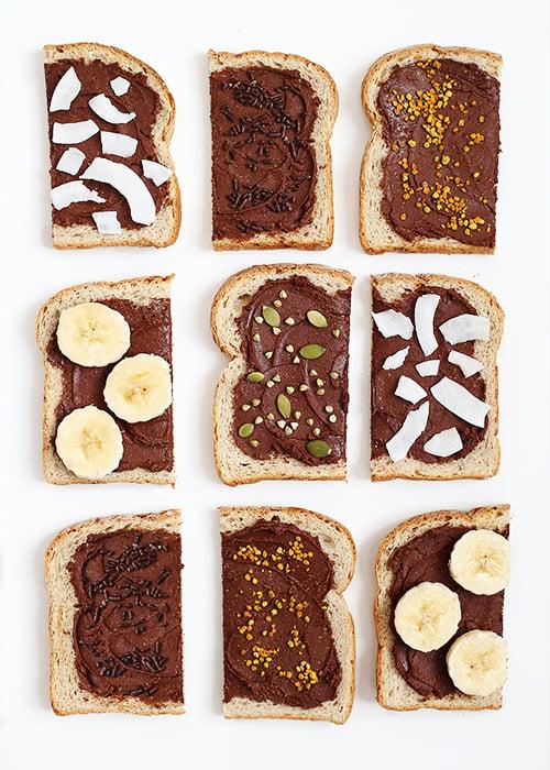 Homemade Nutella Toasts - The Faux Martha