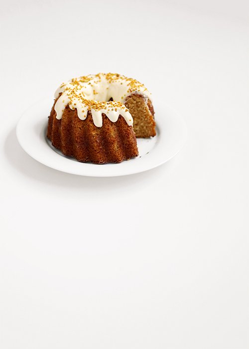 Sarah's Honey Bundt Cake | @thefauxmartha
