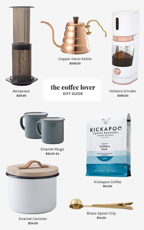 Coffee Lover Gift Guide | @thefauxmartha