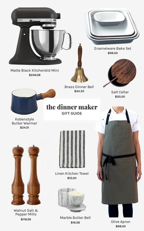 The Dinner Maker Gift Guide   @thefauxmartha