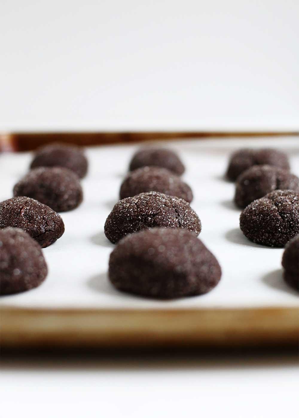 bittersweet black cookies