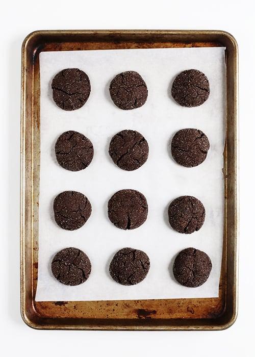Bittersweet Chocolate Cookies | @thefauxmartha