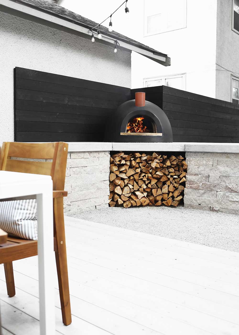 Forno Bravo Wood Fired Pizza Oven from The Fauxmartha