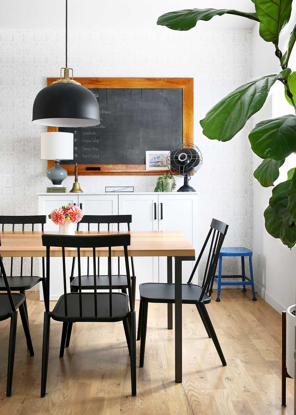 Modern Farmhouse Dining Room - The Faux Martha