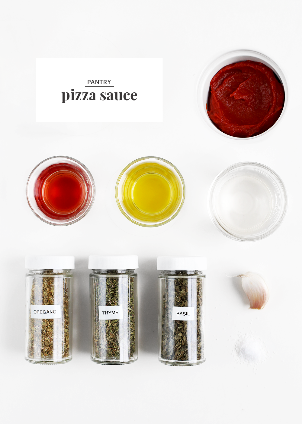 Pantry pizza sauce from The Fauxmartha