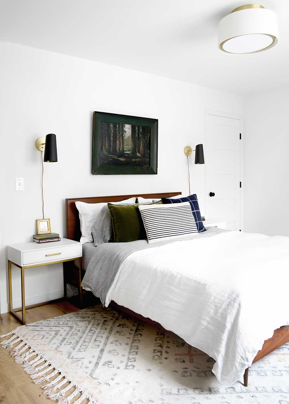 Minimal Masculine Master Bedroom The Faux Martha