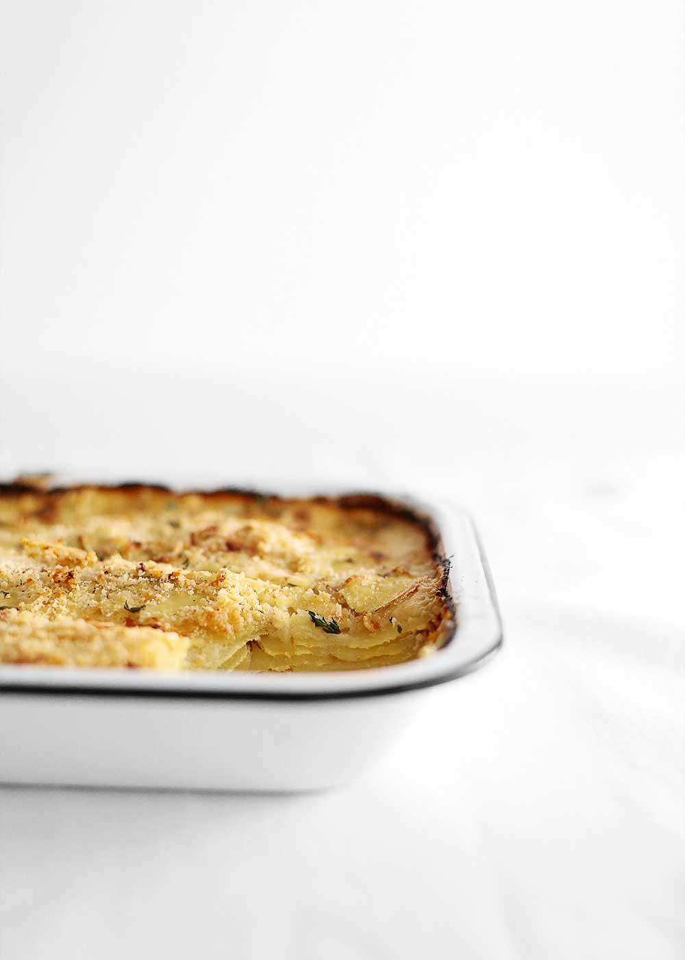 Potatoes Au Gratin from The Fauxmartha