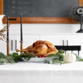 Simple Thanksgiving Turkey recipe from The Fauxmartha