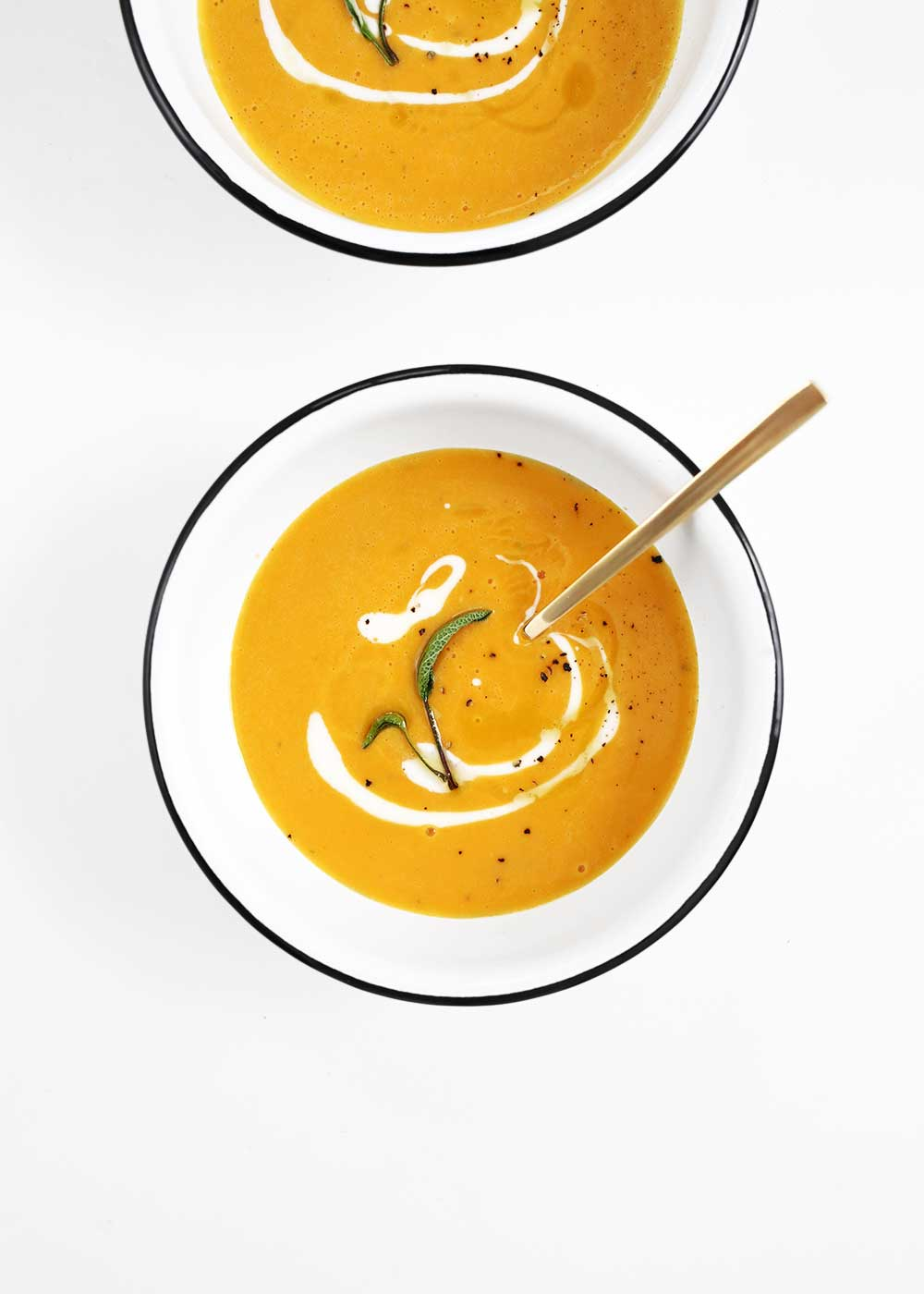Butternut Squash Soup with The FauxMartha and Delta Faucet