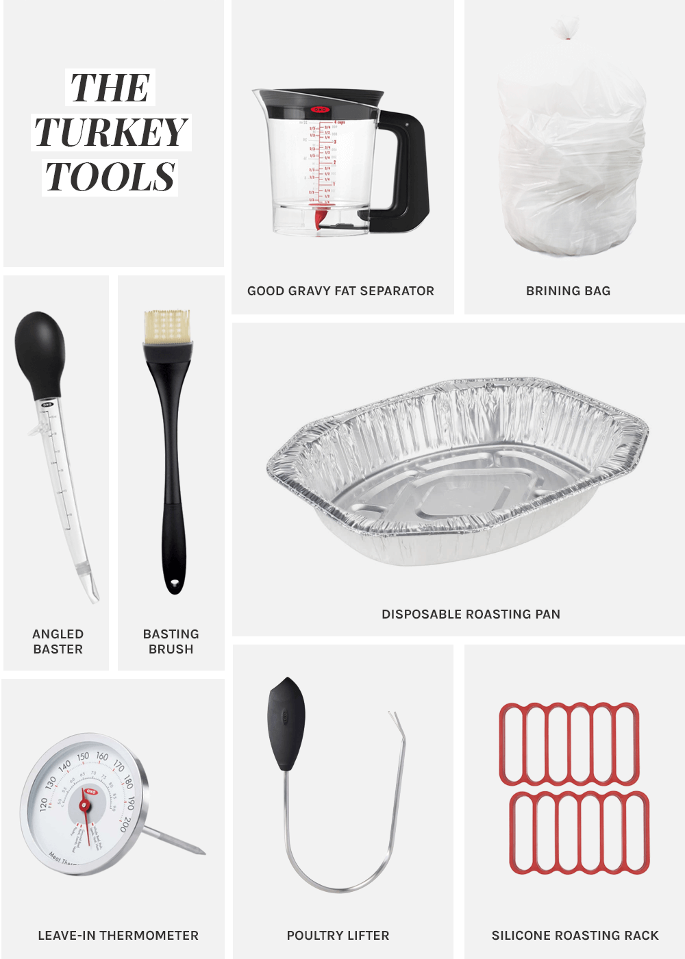 Simple Thanksgiving Turkey tools from The Fauxmartha