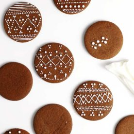 Nordic Gingerbread Cookies by The Fauxmartha