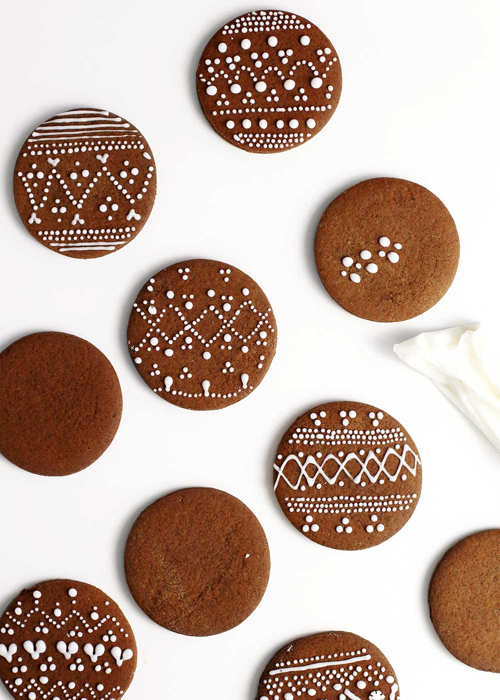Nordic Gingerbread Cookies The Faux Martha