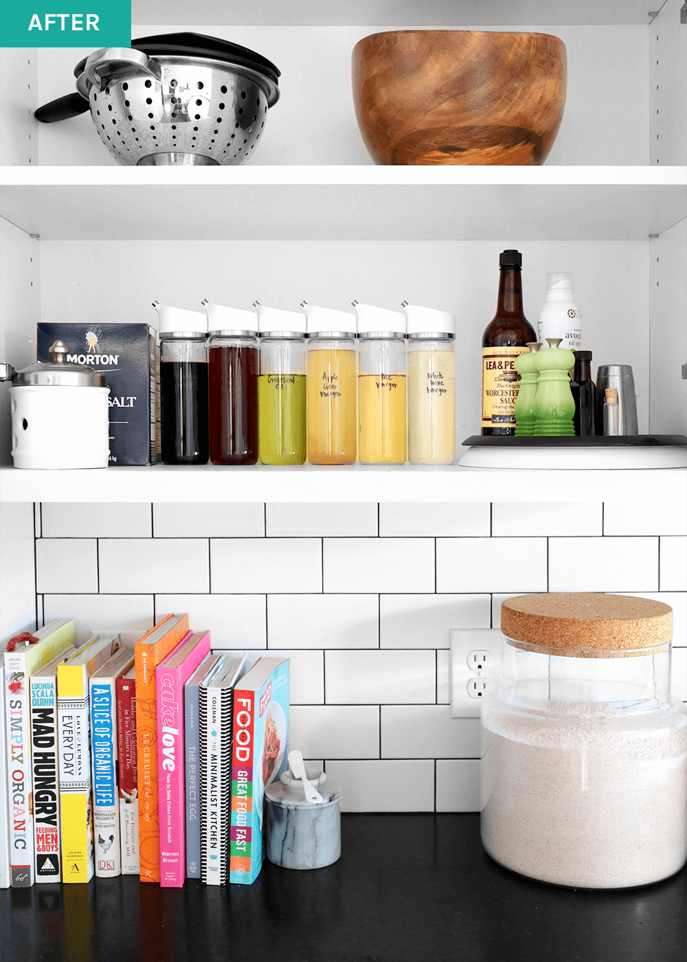 minimal cabinet makeover from the faux martha